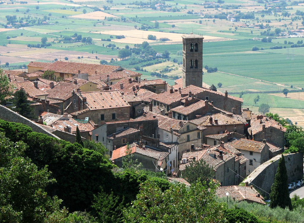 Cortona, one of our favorite hilltop towns