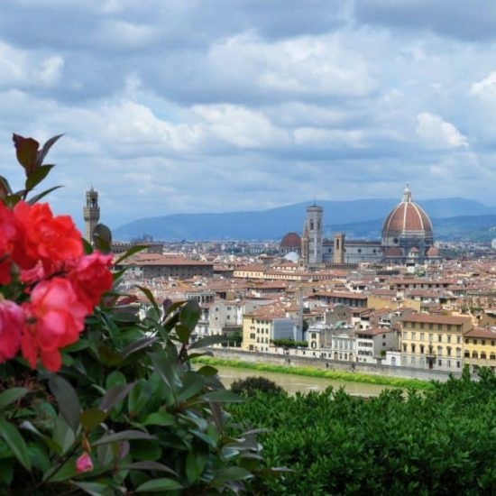 spring flowers florence tuscany
