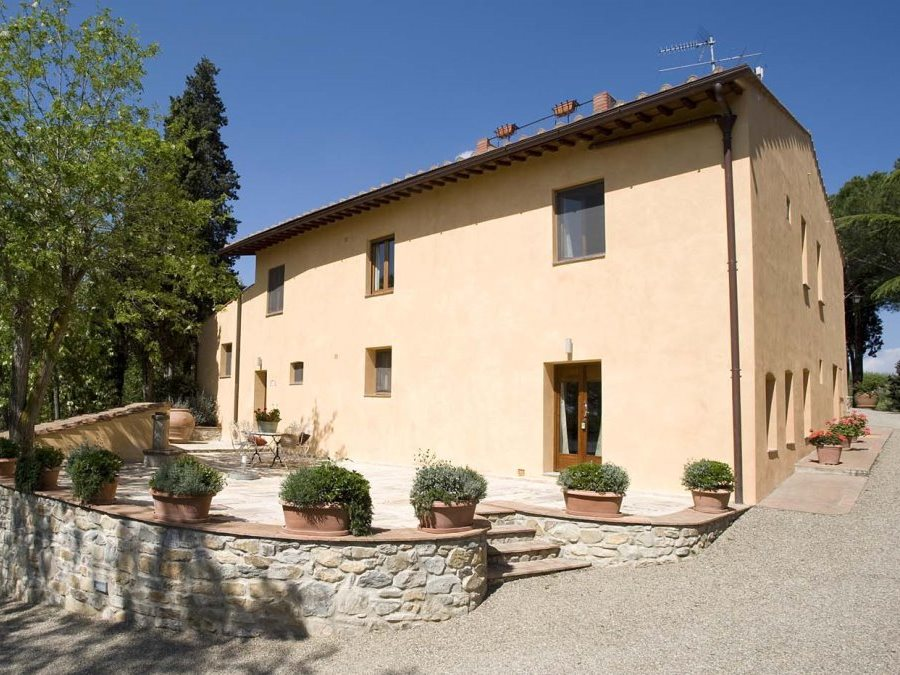 Exterior of Casa di Lusso, an agriturismo villa