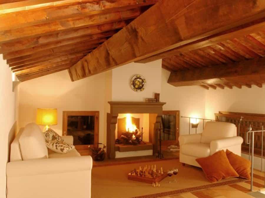 casa di lusso, fall in tuscany