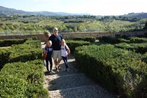 family, life in tuscany