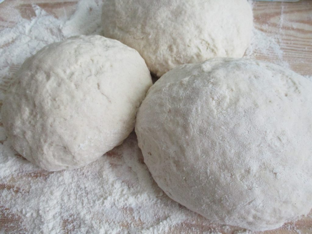 dough for authentic Italian pizza