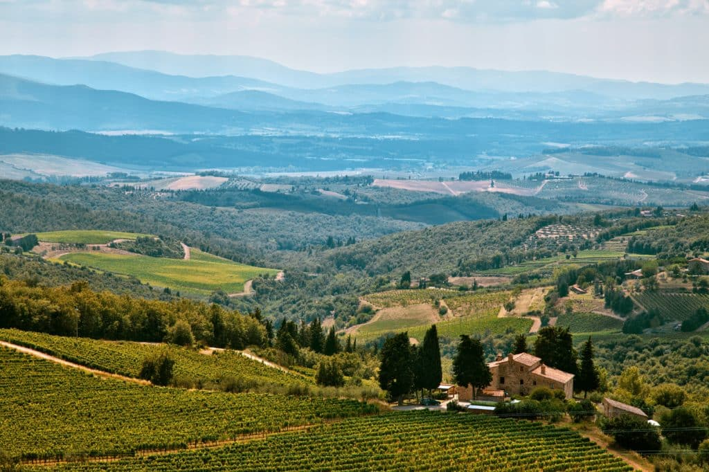 perfect week in tuscany, chianti