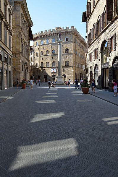 shopping along the via de tornabuoni