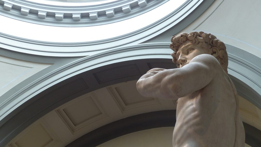 See Michelangel's David during your Florence vacation.