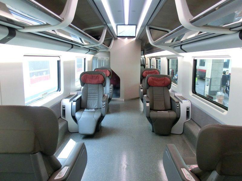 Executive, First Class, Frecciarossa Train