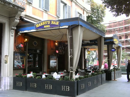 Harry's Bar, Rome, American, Outdoor, Cocktails