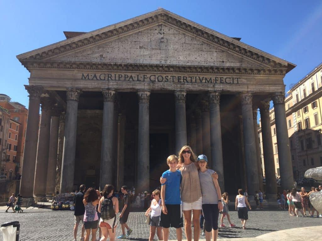Pantheon, Rome, Architecture