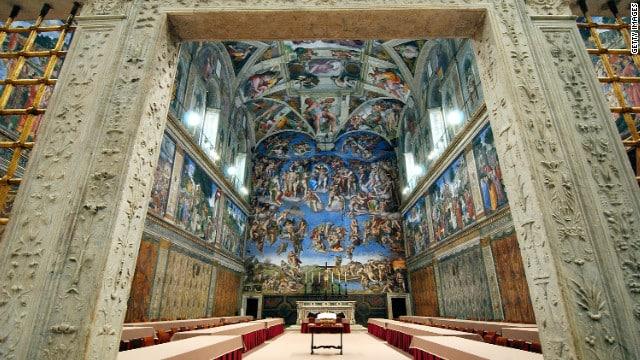 Sistine Chapel, Rome, Michelangelo