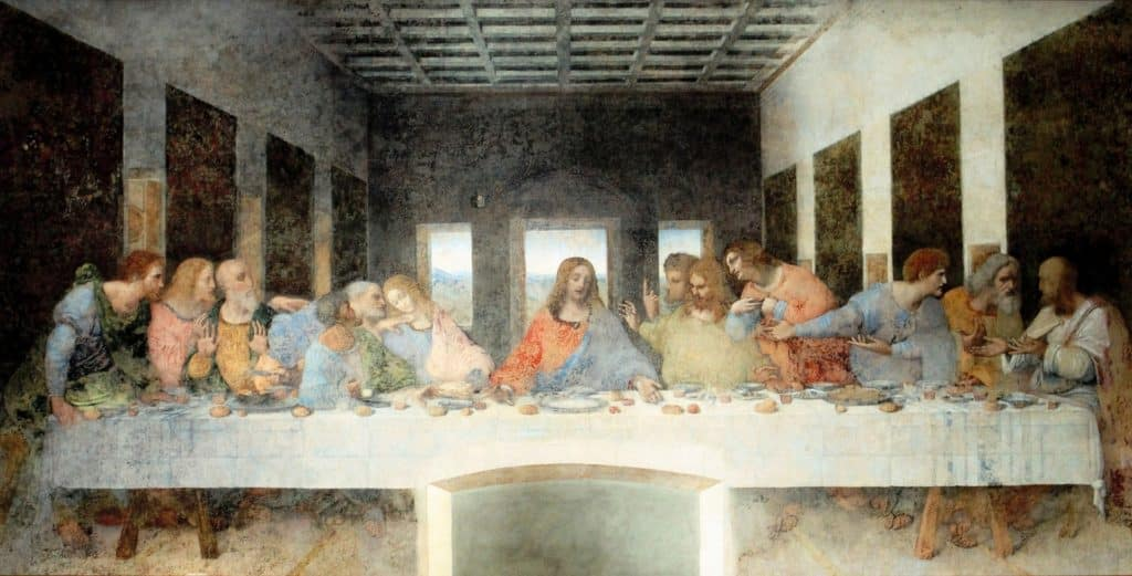 The Last Supper is a fresco painting