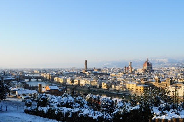 Florence, Tuscany, in Winter