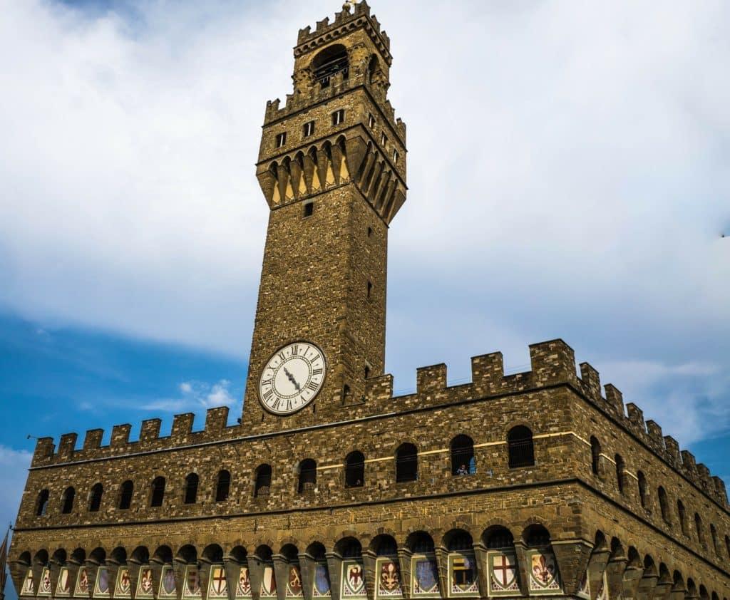 The tower at Piazza della Signoria