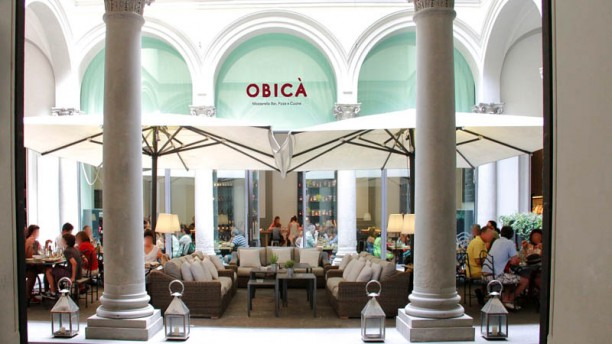 Obica, one of our favorite restaurants in Florence