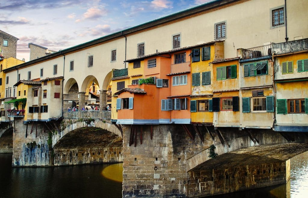 Love and Peace on the Ponte Vecchio