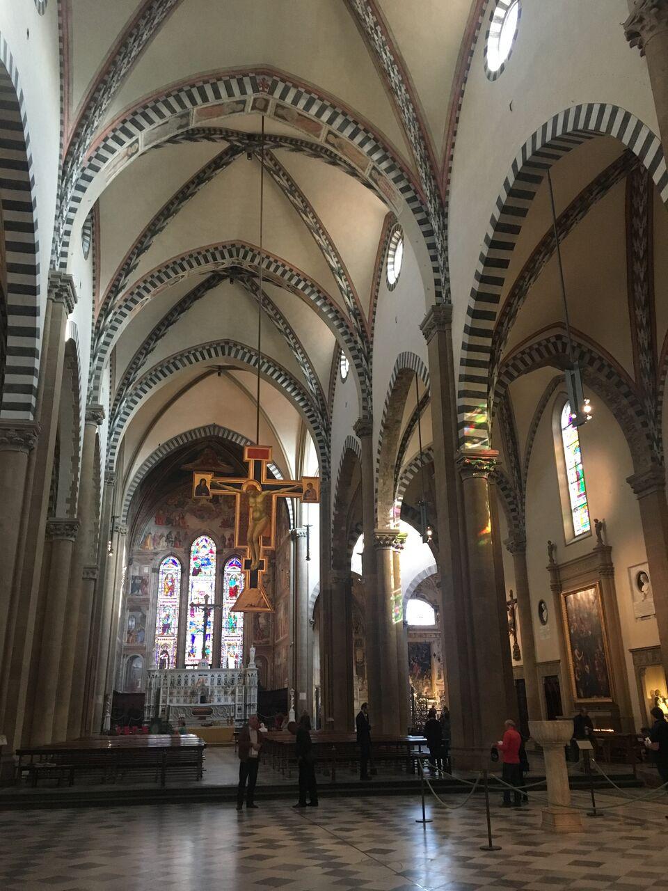 Santa Maria Novella is a breathtaking church in Florence