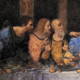 a scene from the Last Supper
