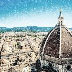 The Basilica di Santa Maria del Fiore (Basilica of Saint Mary of the Flower) in Florence, Italy located in the Piazza del Duomo stands beautifully over the city. Click to learn more about this magnificent cathedral.