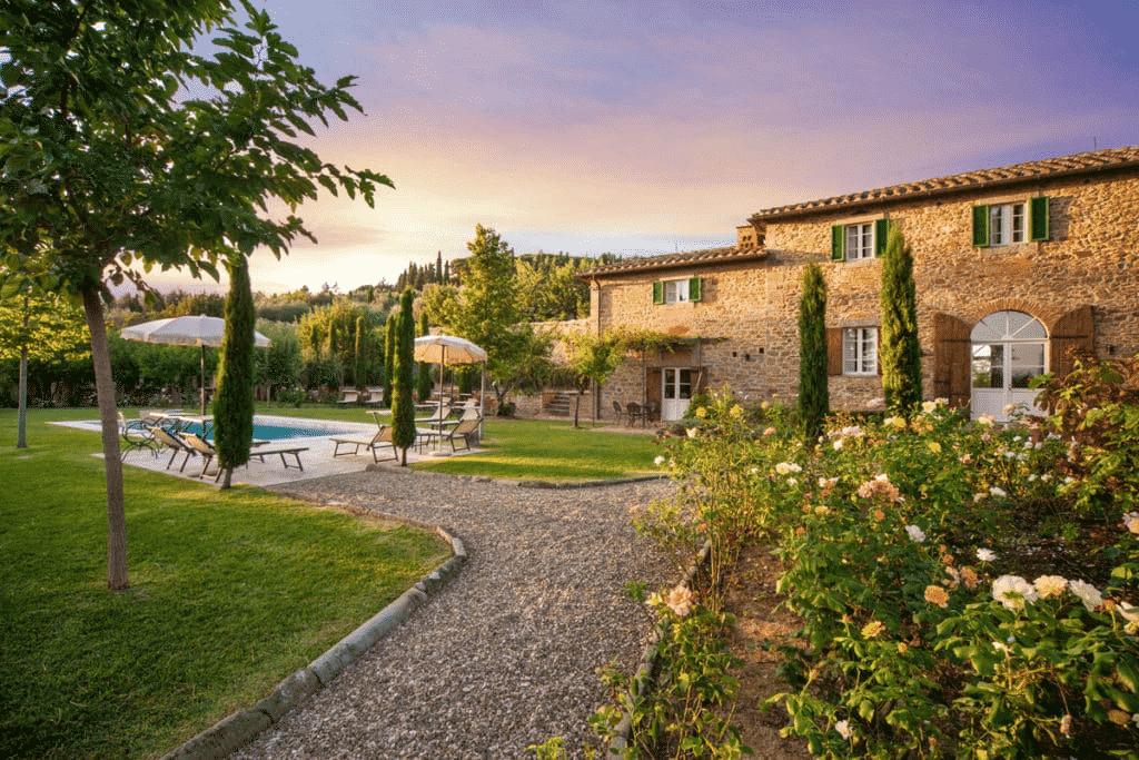 Tuscan Villa - Casa del Sole in Cortona Southern Tuscany
