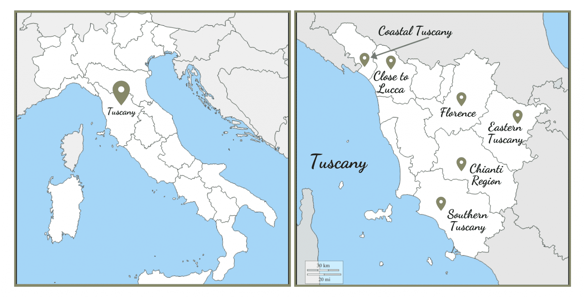 Tuscany Travel Locations